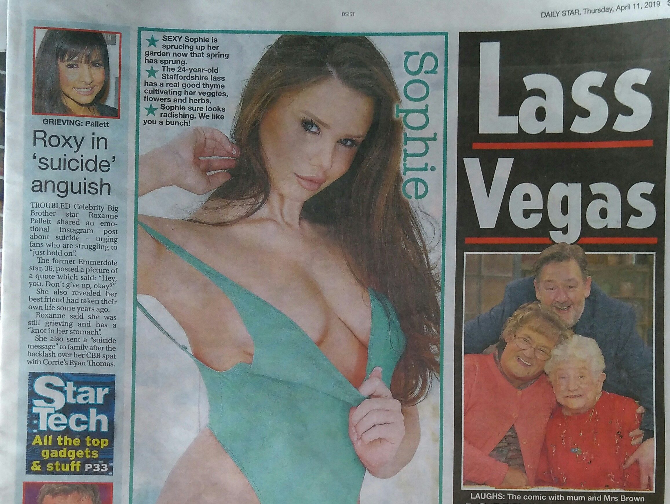 Daily Star page three