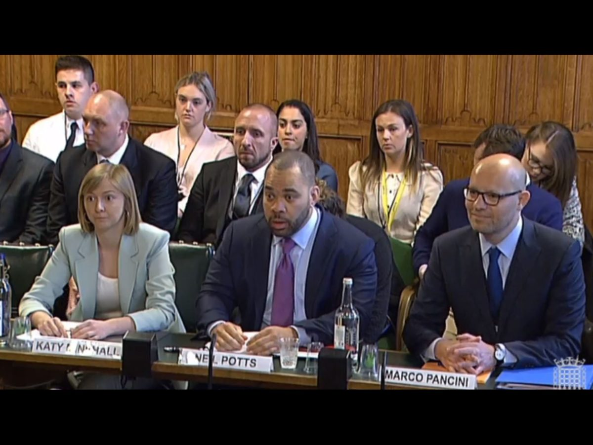 MP tells Facebook, Youtube and Twitter bosses 'you are not doing your jobs' over extremist content