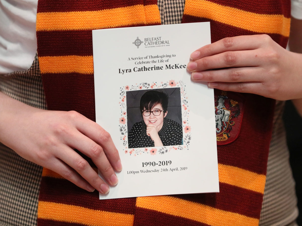 Death of 'outstanding journalist' Lyra McKee feels like a 'turning point', says Belfast Telegraph editor