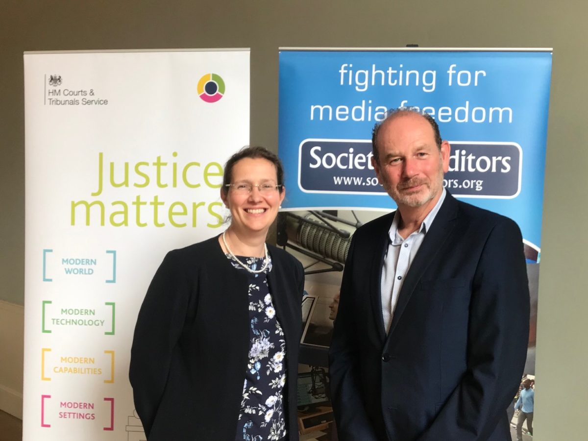 Regional journalists meet with court service chief at first open justice roundtable discussion
