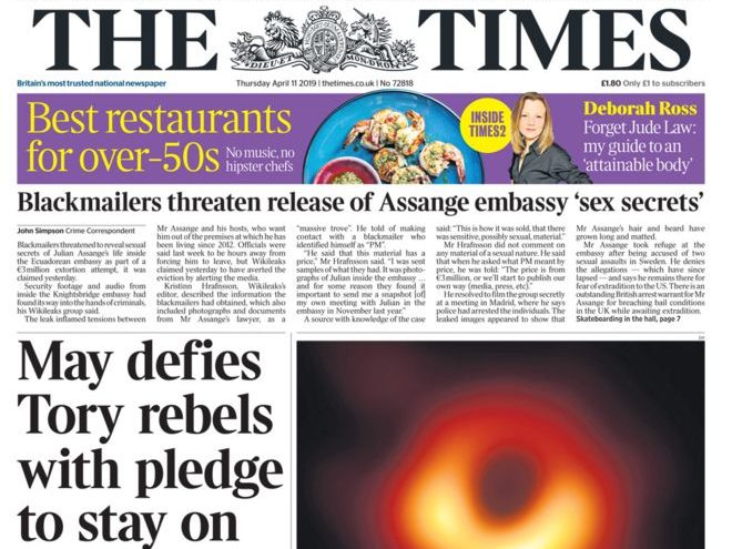 Culture Secretary 'minded to' allow Times titles to 'share journalistic resources' in change to Murdoch rules