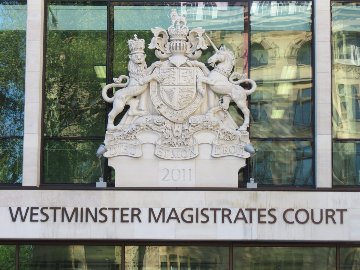 Court security accused of allowing upskirt defendant to leave by secret exit to avoid press