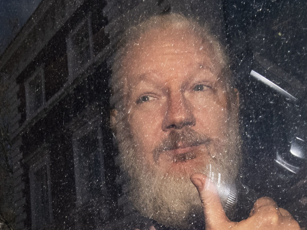 Wikileaks founder Julian Assange sentenced to 50 weeks in UK prison for skipping bail