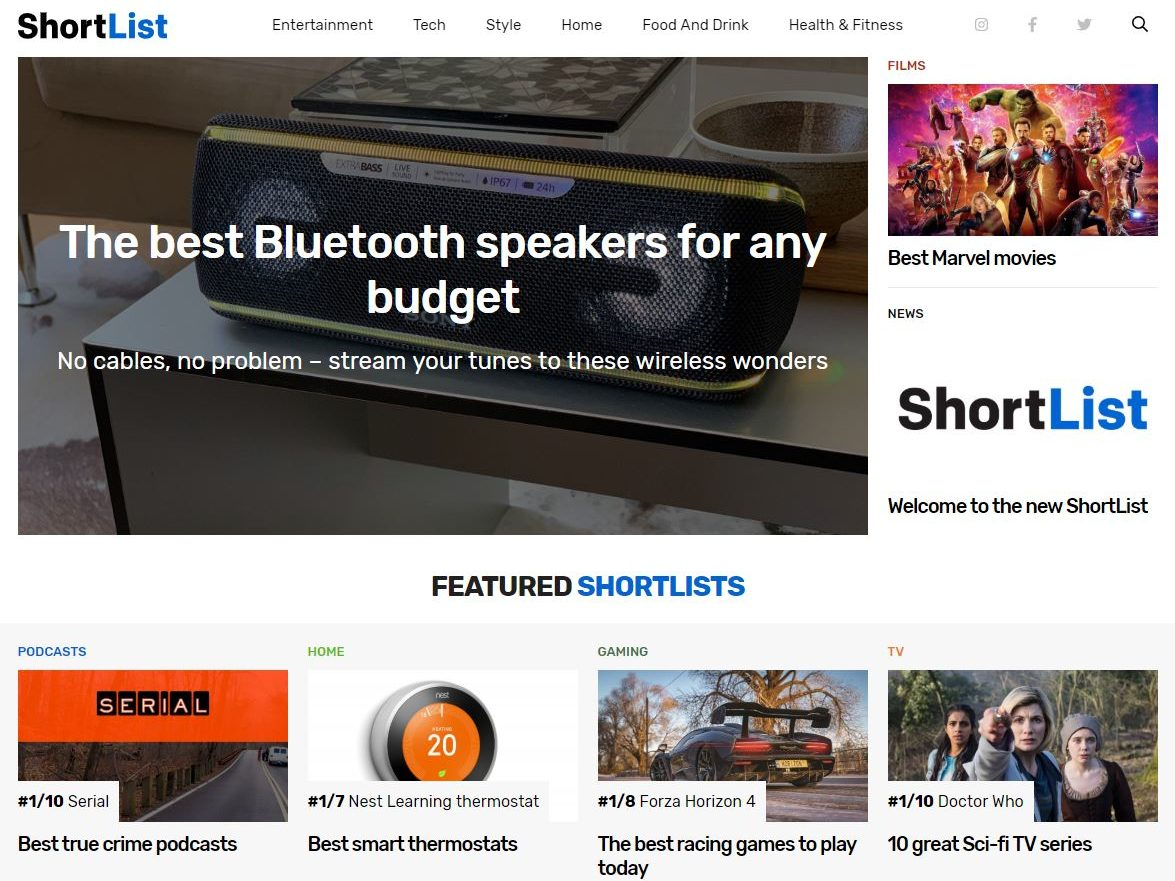 Shortlist 'no longer aimed at men' with relaunch of website funded by product links