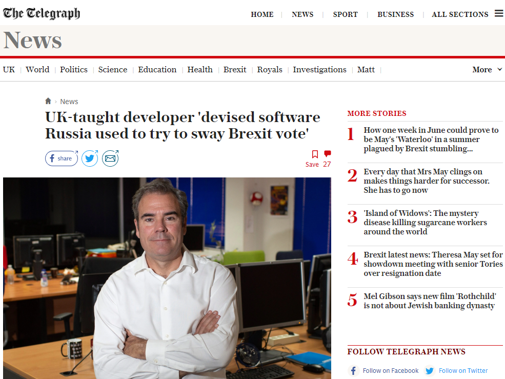 Telegraph and four European partners publish first investigation in major 'big data' collaboration