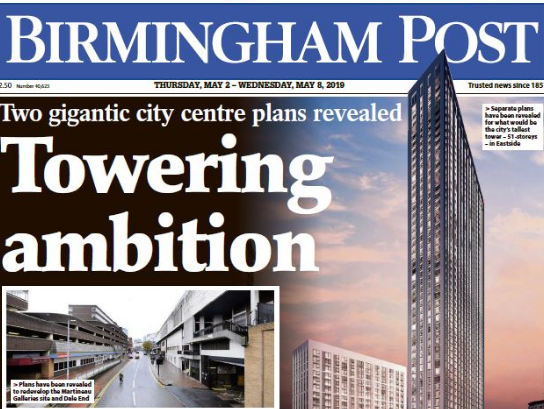 Birmingham Post website scrapped as Reach set to launch Business Live in its place