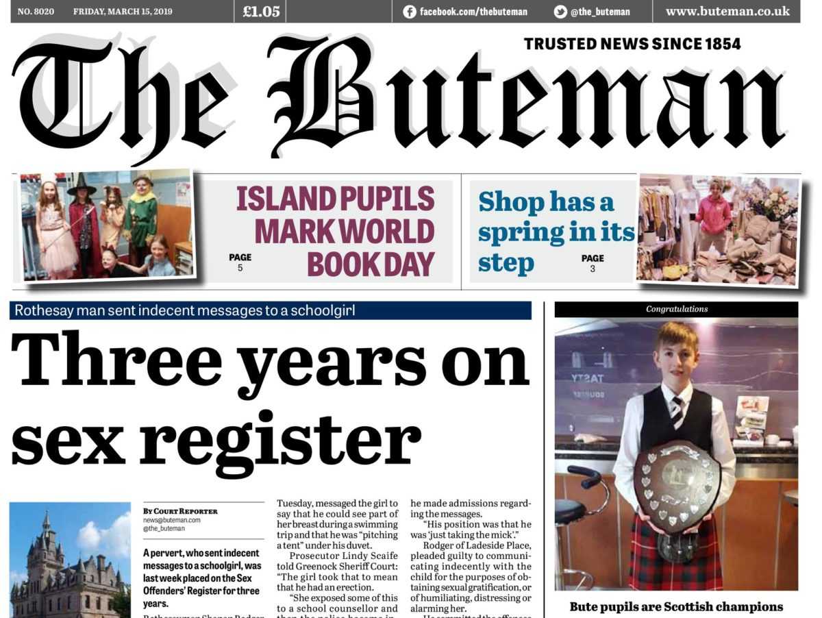 Weekly covering Scottish island closes after circulation drops below 550