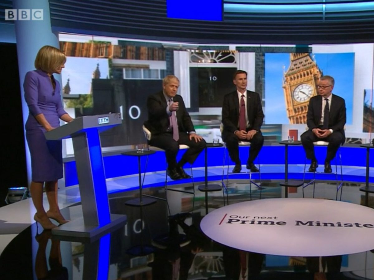 BBC Tory leadership debate draws 31 complaints and prompts review of guest vetting
