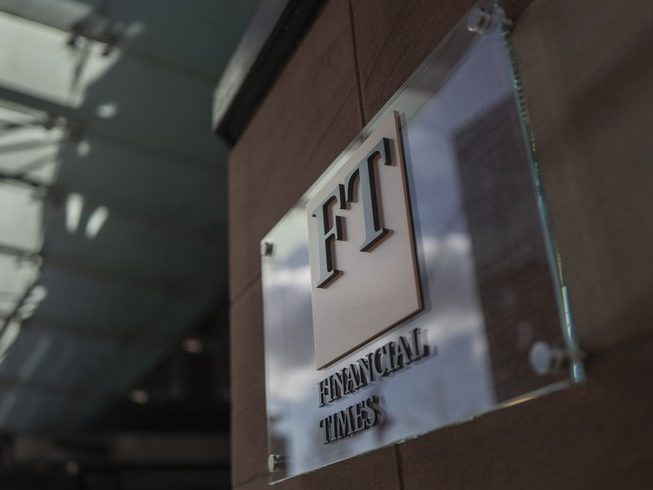 FT drops online paywall for 24 hours as it launches campaign to 'reset' capitalism