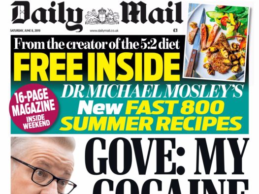 Saturday Daily Mail outsells top-selling Sunday paper by nearly 700k copies in May