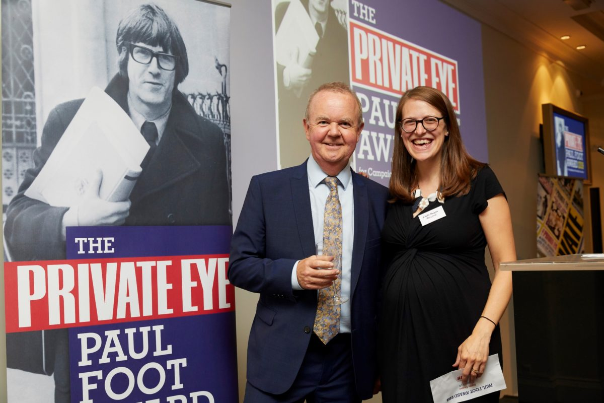 Buzzfeed's Emily Dugan wins Private Eye Paul Foot Award 2019 for reports exposing 'broken legal system'
