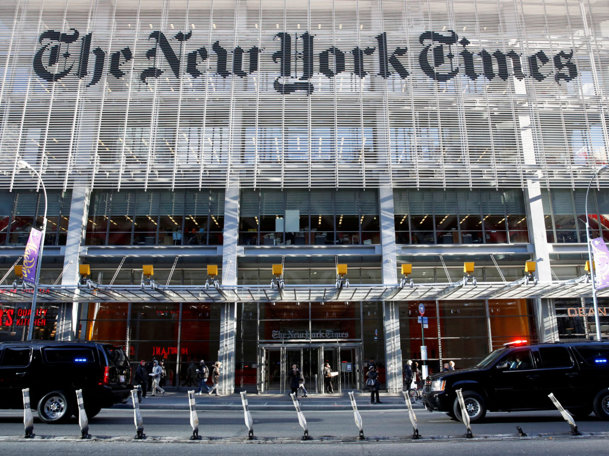 International New York Times stops daily political cartoons after running 'anti-Semitic' image