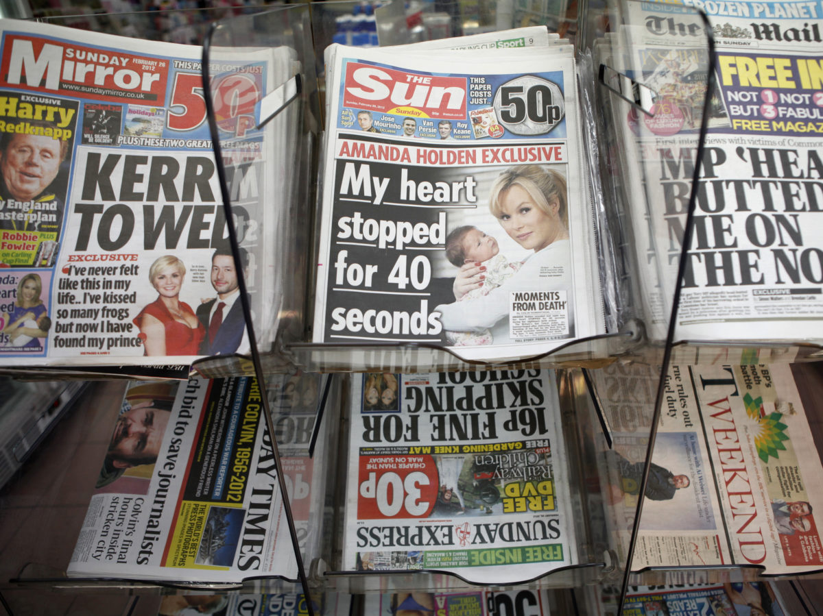 National newsbrand ABCs: Sunday newspapers hit by biggest circulation drops