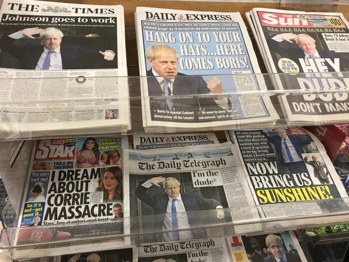 How UK newspapers reacted to Boris Johnson becoming Prime Minister