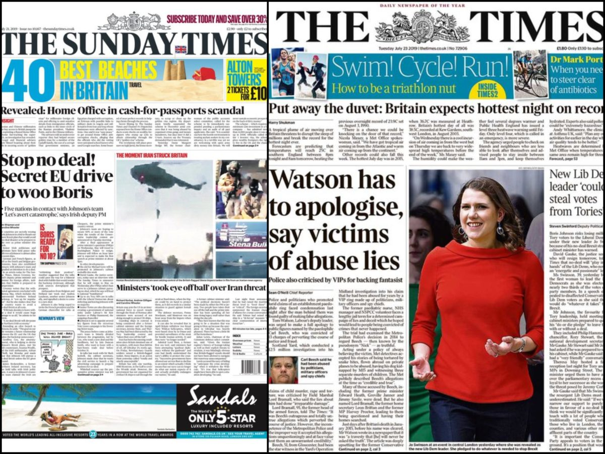 Times and Sunday Times win permission to share resources and journalists