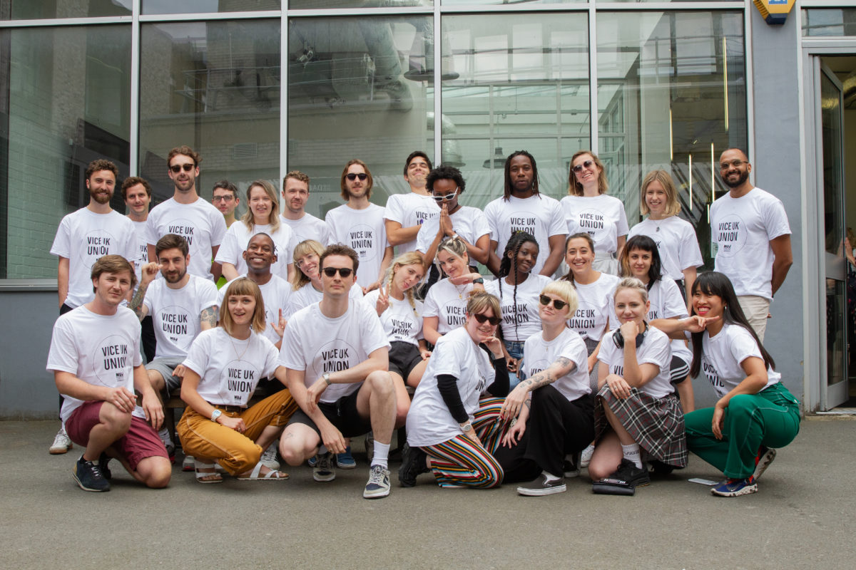 Vice UK journalists win union recognition after months of negotiations