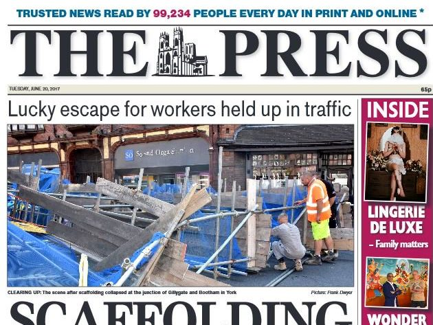 Three jobs cut at York daily as Newsquest downsizes sports and arts teams