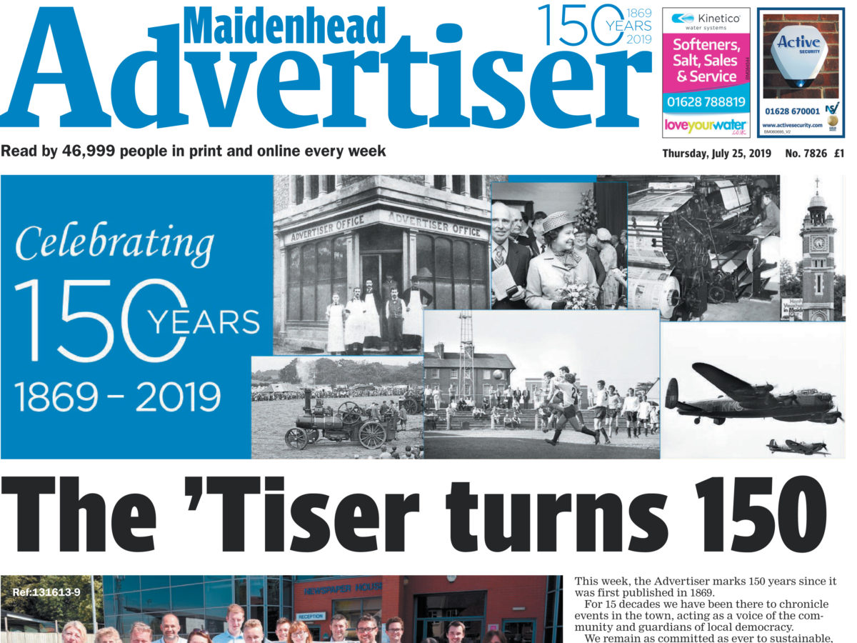 Maidenhead Advertiser celebrates 150th anniversary with limited edition pale ale