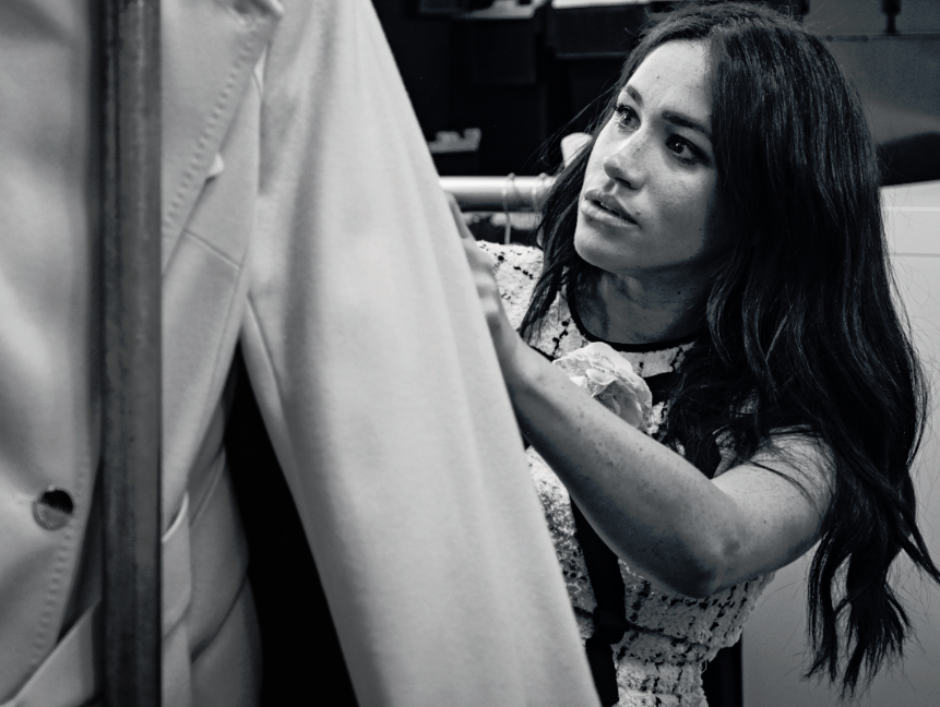 Meghan Markle guest edits British Vogue's coveted September issue in first for fashion mag
