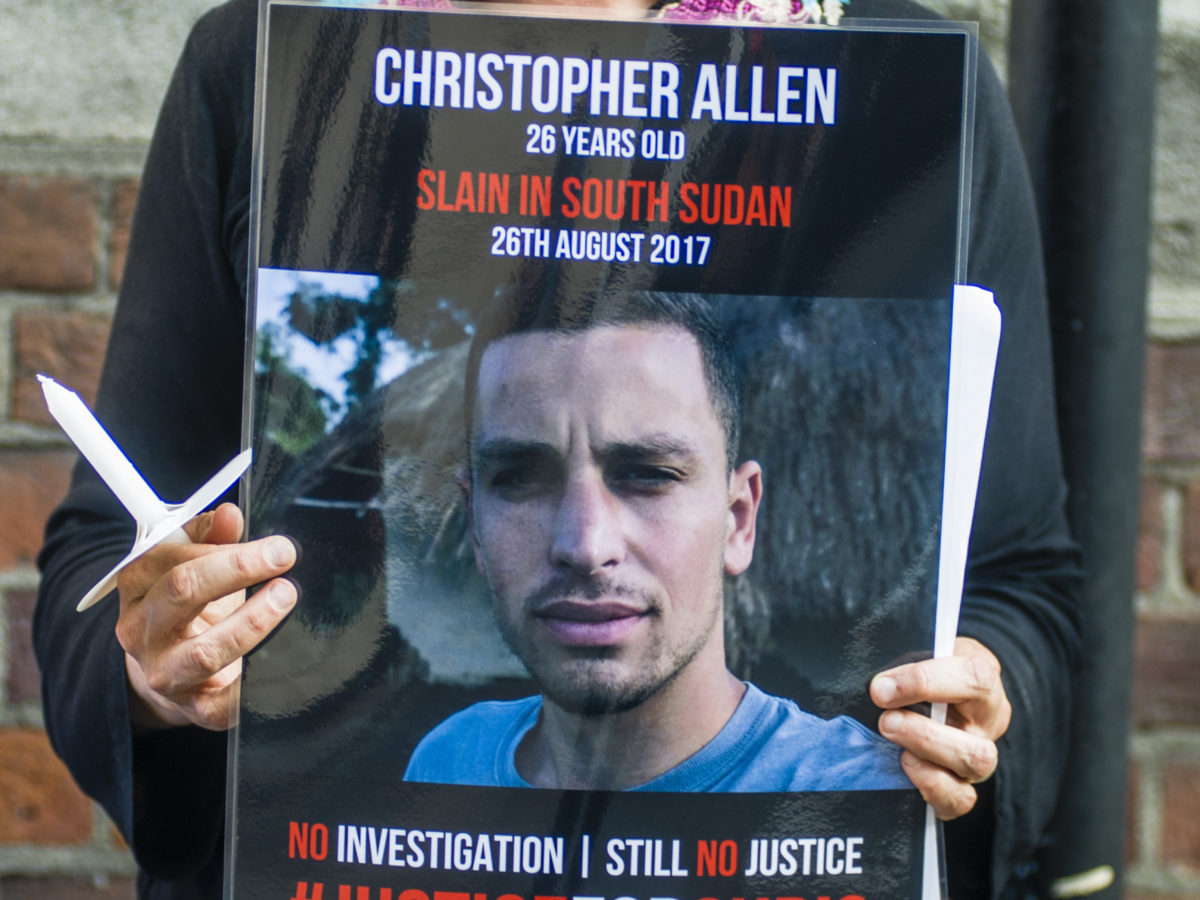 Family of journalist slain in South Sudan push for investigation two years on
