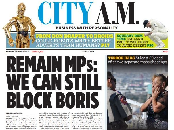 Sun PR chief takes up deputy editor role at City AM