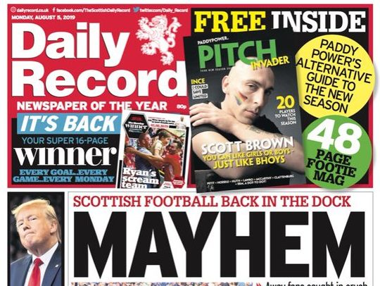 Photographs help defend Daily Record reporters against IPSO 'harassment' complaint