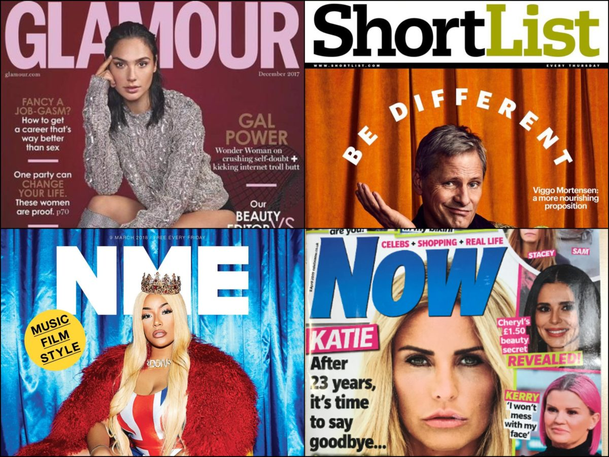 Net loss of seven UK print magazine titles over last five years, analysis shows