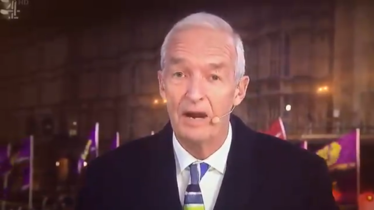 Ofcom clears Channel 4 News over Jon Snow's 'never seen so many white people' comment