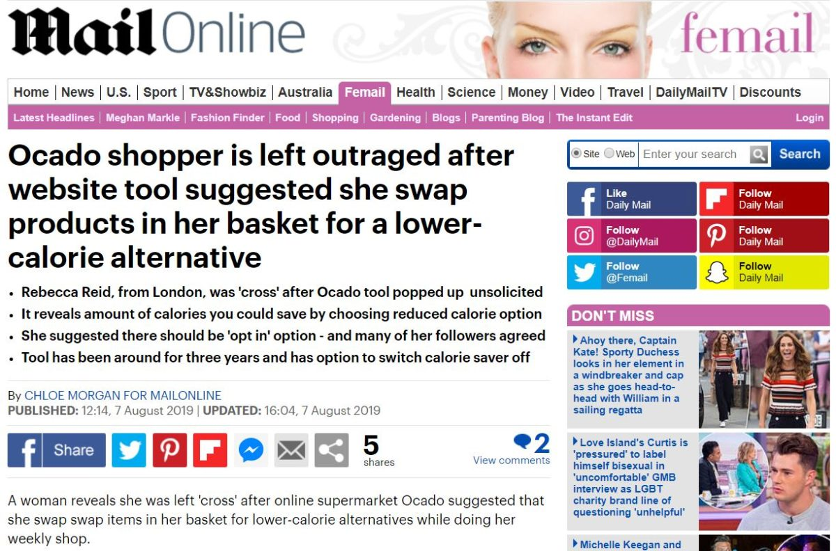 Grazia digital editor slams Mail Online for 'ripping' story and using her pic without asking