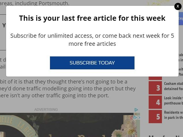 Regional daily editor 'makes no apologies' for putting up paywall despite complaints