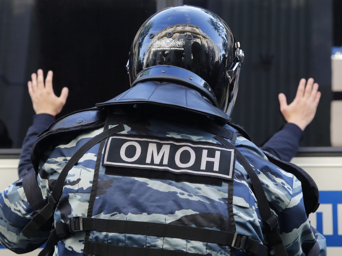 Russian authorities urged to stop harassing journalists reporting Moscow protests