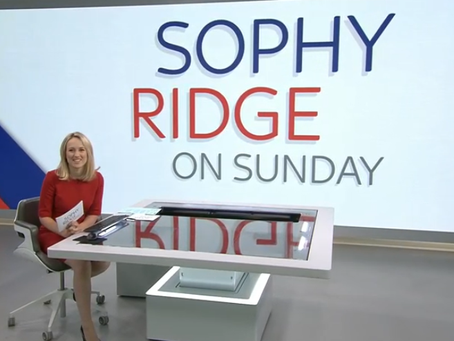 Sophy Ridge on Sunday moves to earlier slot in scheduling battle with Marr