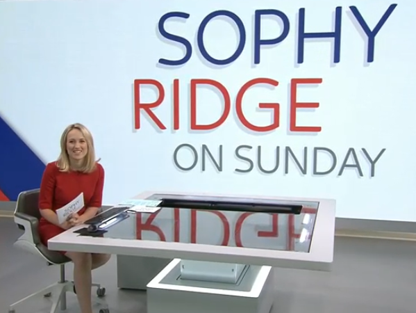 Sophy Ridge to present Saturday and Sunday politics shows for Sky News during 'Brexit election'