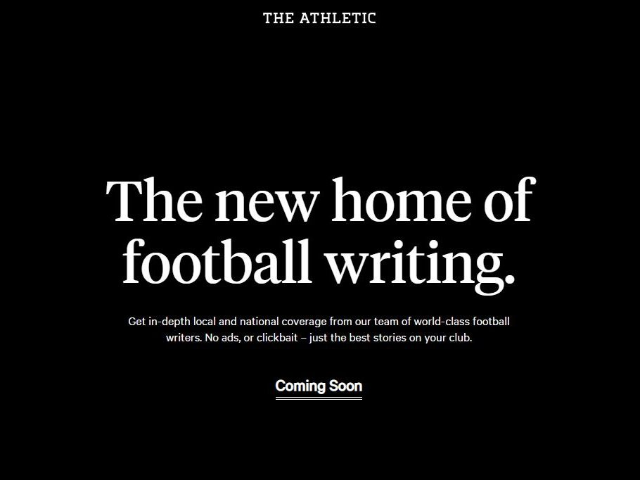 The Athletic launches in the UK with focus on 'local' coverage of Premier League football teams