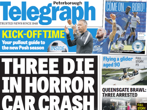 Peterborough Telegraph reporter wins right to name school employee jailed for pupil assault