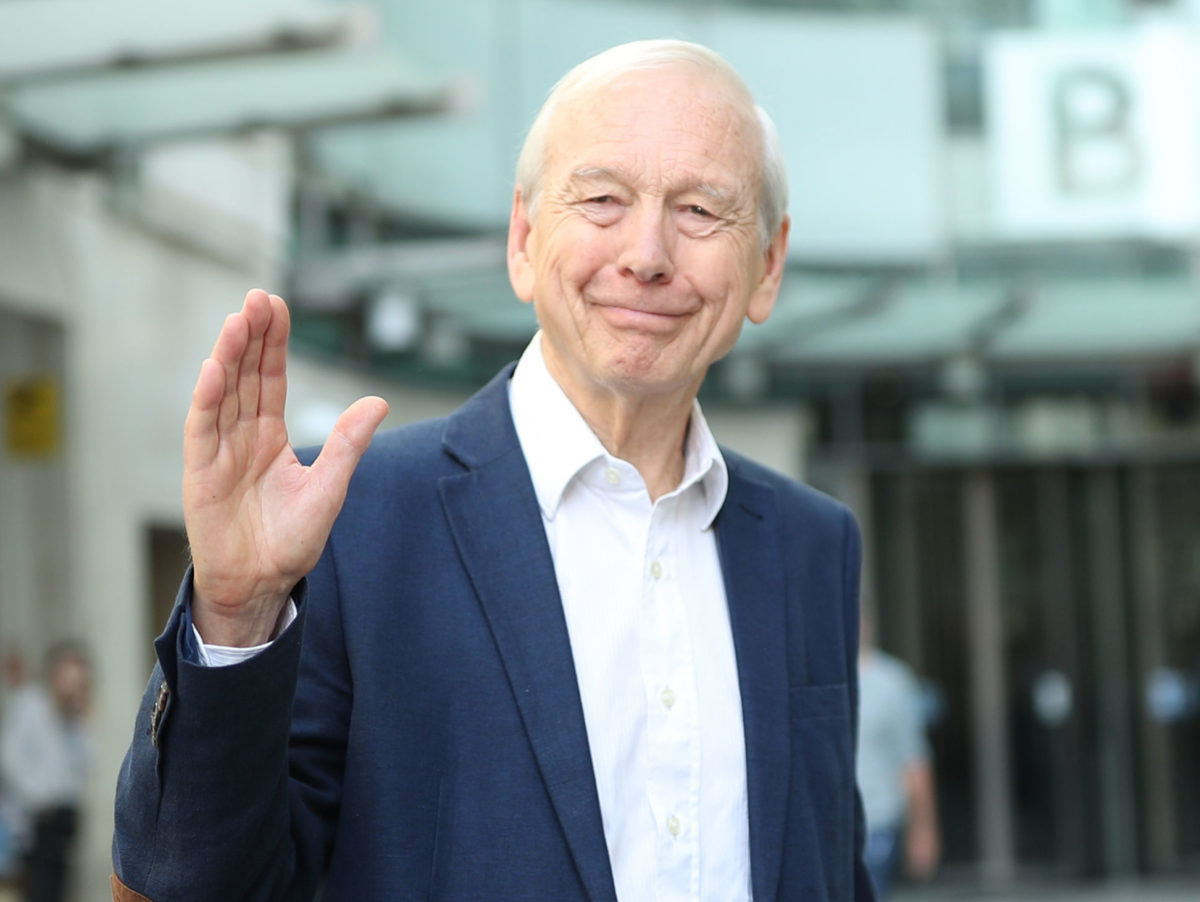John Humphrys takes swipe at BBC's 'institutional liberal bias' days after leaving Today