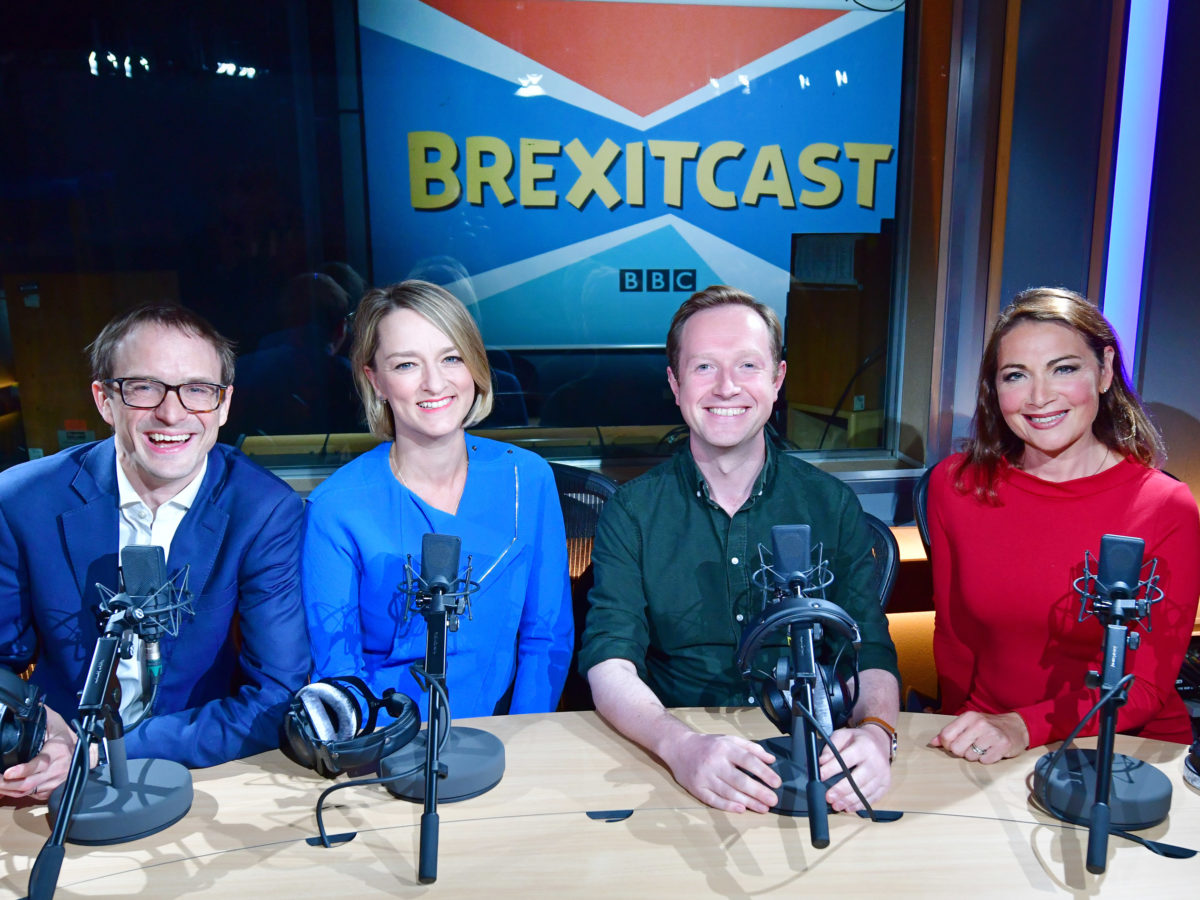 BBC's Brexitcast tops 1m viewers on TV debut