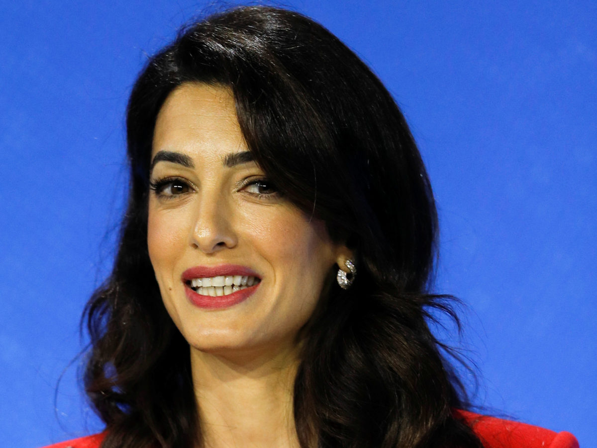 Amal Clooney helps create 'model laws' to protect media freedom worldwide