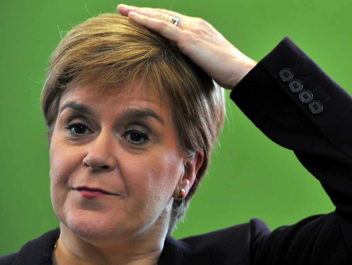 Nicola Sturgeon denies role in late-night attempt to block Sunday Mail splash