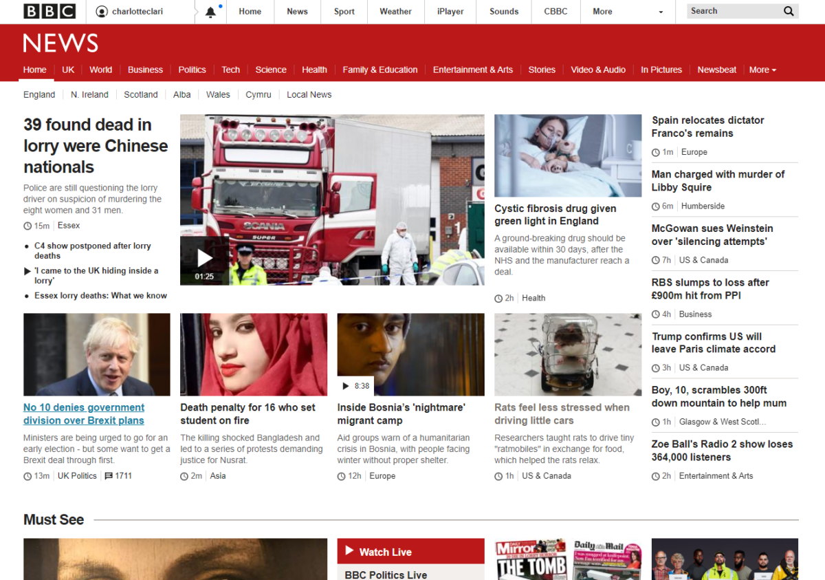 BBC could do more to link to other online news providers, Ofcom finds