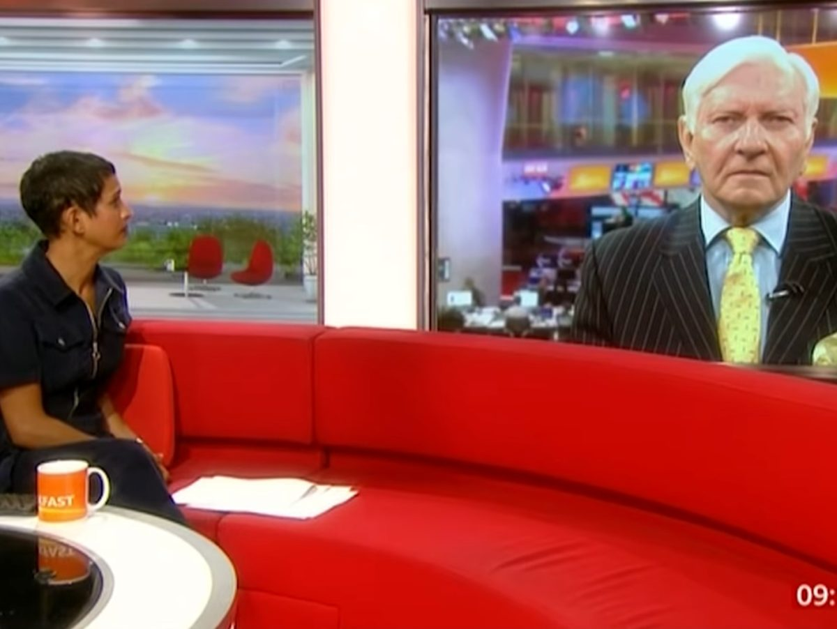 BBC stands by Breakfast's Naga Munchetty over Harvey Proctor walkout complaints