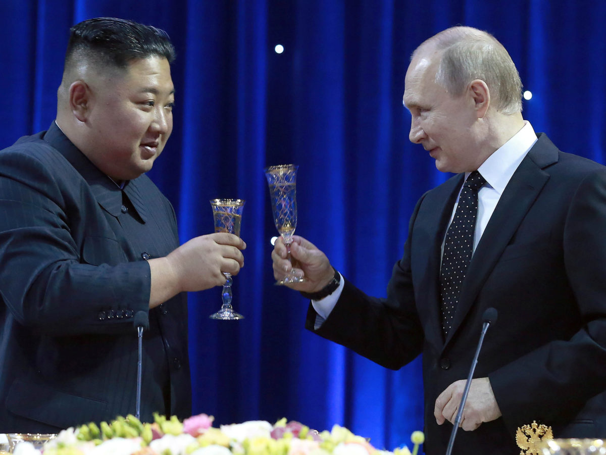 Russian and North Korean state-run news agencies team up against 'fake news'