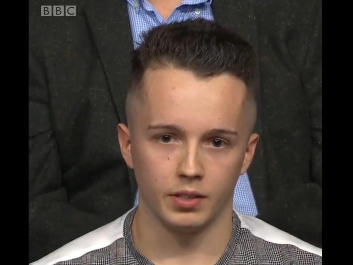 Claim Question Time put BBC editor's son in audience as Brexit supporter debunked as hoax