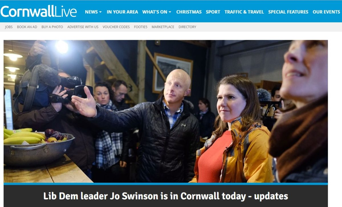 Reach closes last newsroom in Cornwall with some staff moved to hub in Devon