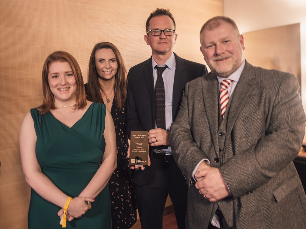 JPI Media investigations team and Channel 4 News recognised for mental health journalism
