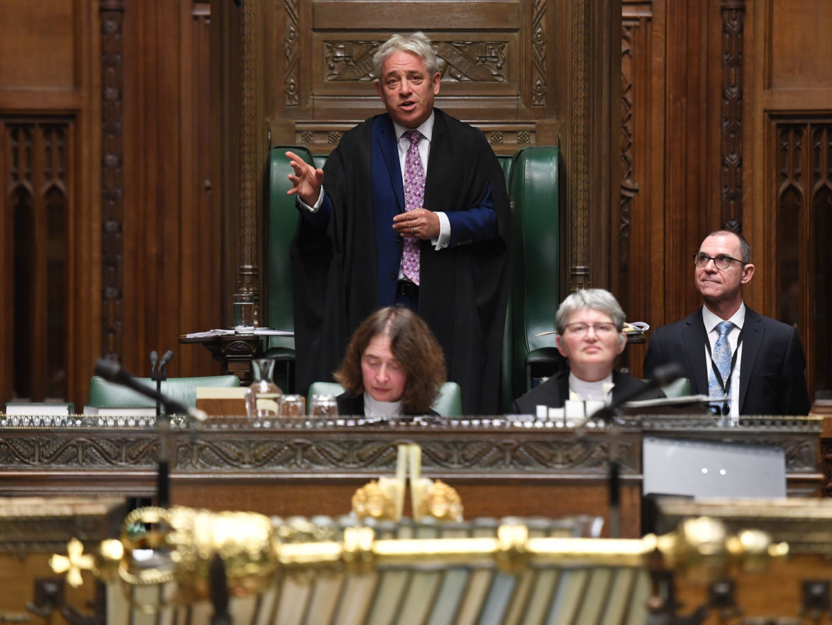 News diary 4-10 November: New Commons Speaker elected and 30 years marked since fall of Berlin Wall