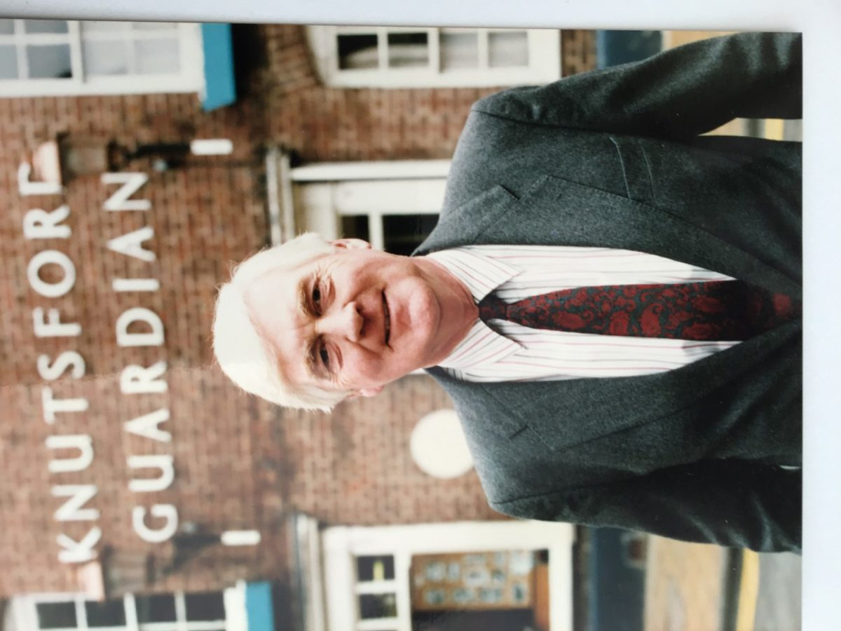 Former Knutsford Guardian editor of 25 years Ken Wilson dies aged 85