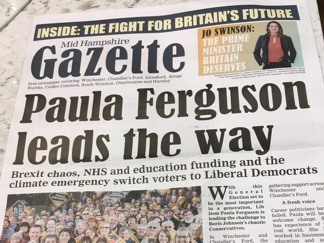 Newsquest boss calls on Lib Dems to pull 'outrageous' pamphlet mimicking local paper