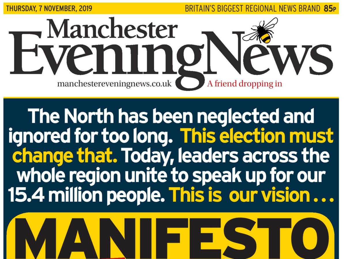 Reach, JPI and Newsquest dailies team up to present election 'manifesto for the north'