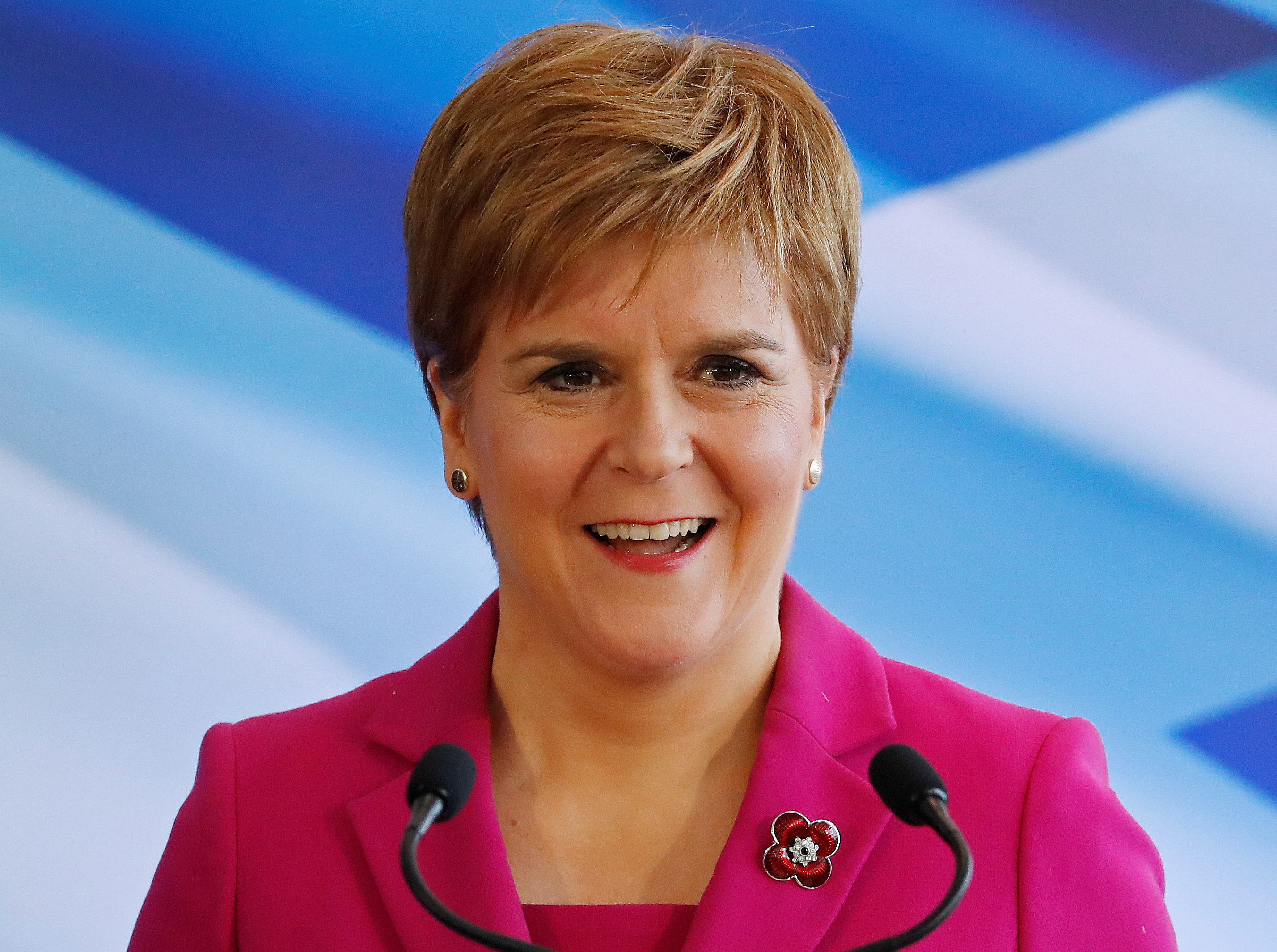 Nicola Sturgeon tops reader poll